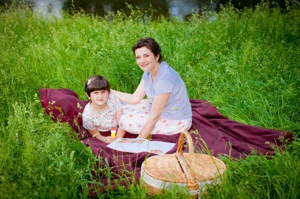 Машей марина кухар с дочкой аней